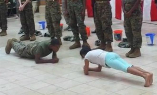 Школьница против спецназа