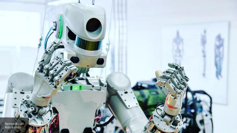 """Робот """"Федор"""" предложил заселить планеты Солнечной системы роботами"""