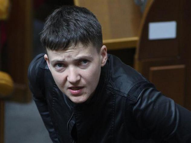 Верховная рада отдала Надежду Савченко под арест