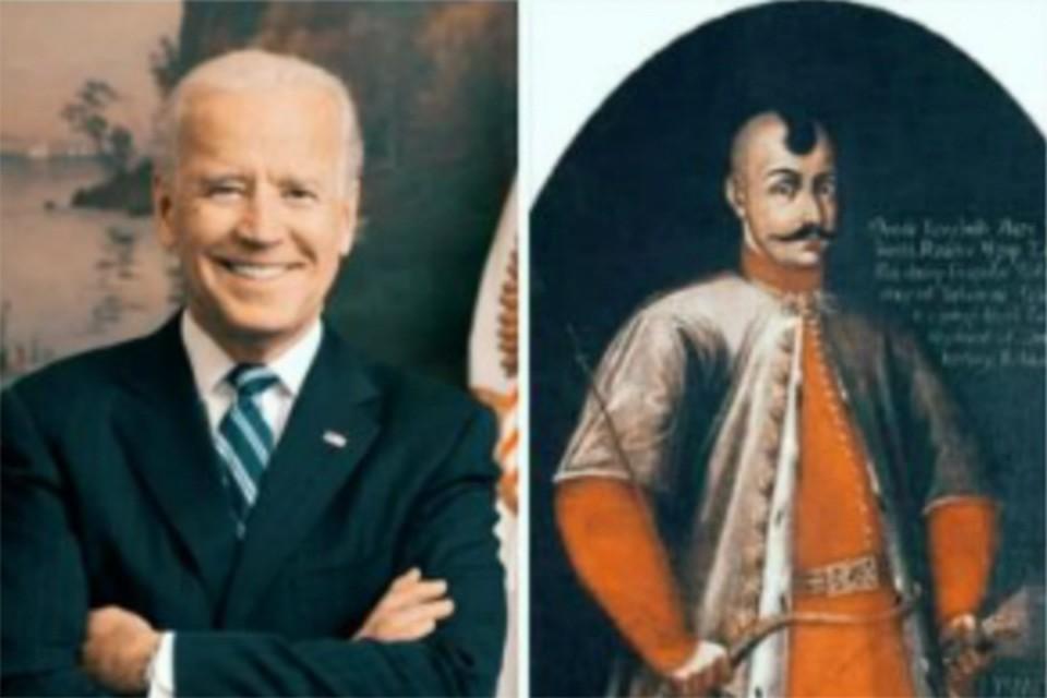 Правда ли, что новый президент США- потомок запорожского казака Байды Политика