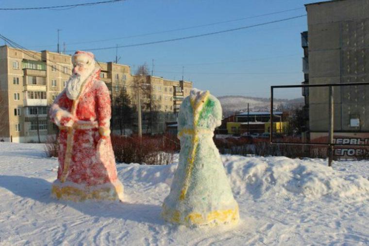 На Урале обезглавили Снегурочку, которая ужаснула горожан