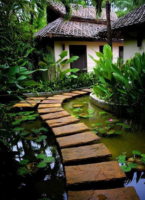 дорогу фантазии: 35 оригинальных вариантов дорожек для вашего сада