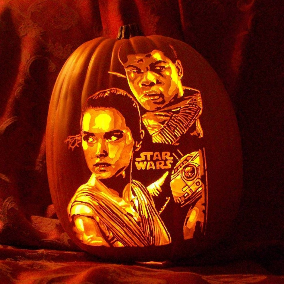 Хеллоуинские тыквы Алекса Вера