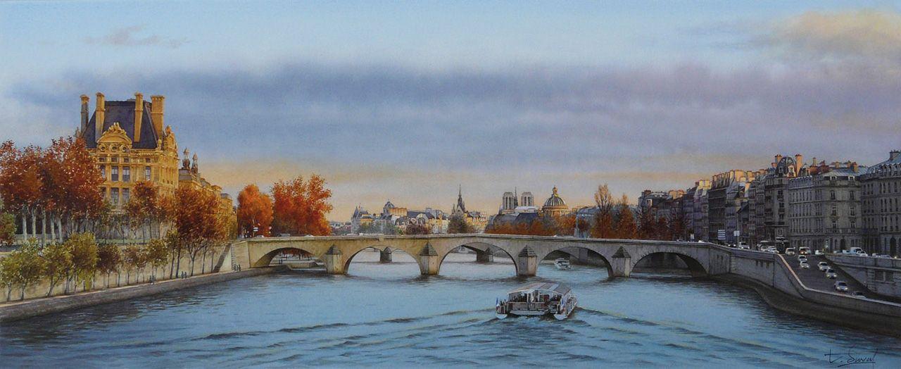 Акварельный взгляд на Париж