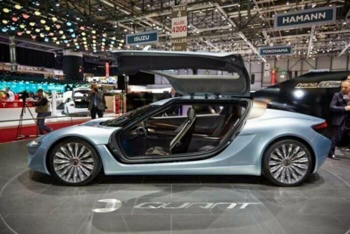 Конец нефтяной эпохи: европейская компания создала автомобиль, работающий на соленой воде — 920 л.с