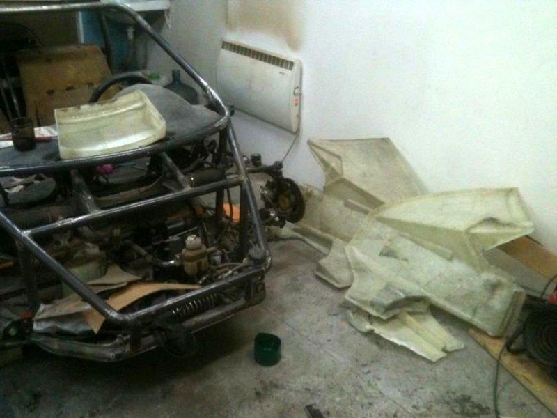 «Жена сказала: хватит прятать его в гараже»: челябинец собрал спорттрайк по фото из интернета