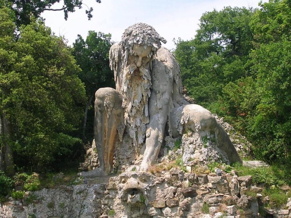 Аппеннинский Колосс - статуя таинственного стража