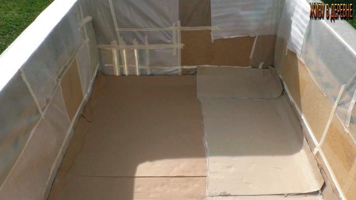 Как из поддонов построить дешевый большой бассейн за 1 день бассейн,для дома и дачи