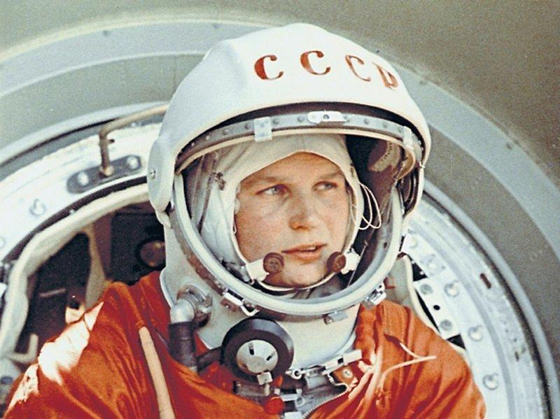 Первая женщина космоса