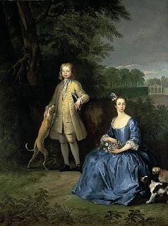 Модные платья 18го века