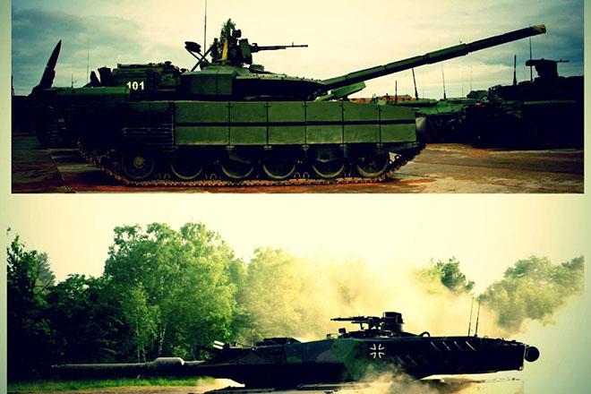 Засекреченный российский реактивный танк