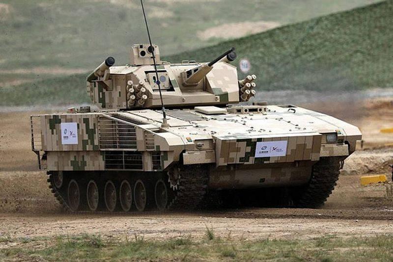 Аналог немецкой Puma и шведской CV90. Китай представил новую БМП VN17