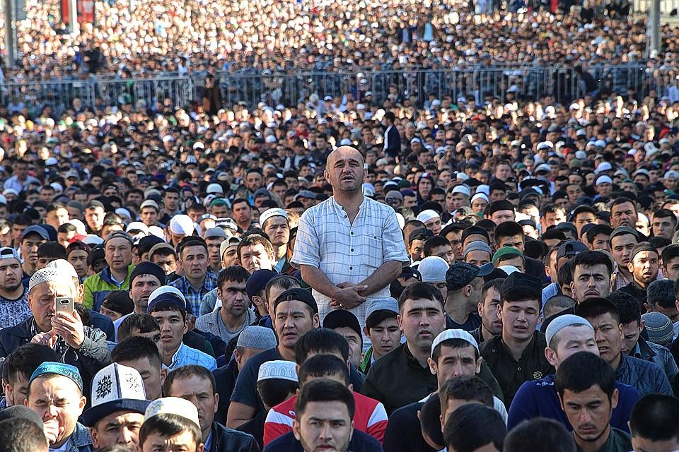 «Сколько-сколько, говорите, у нас мигрантов?» Москва отметила Ураза-байрам