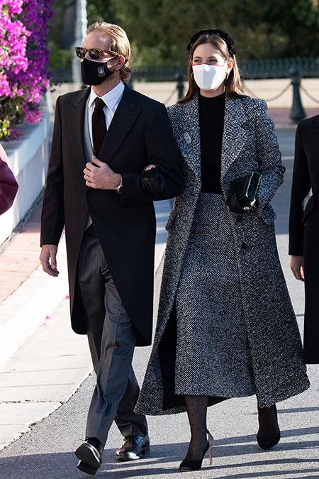 Князь Альбер и княгиня Шарлен с детьми и другие представители монаршей семьи на празднике в Монако Монархи,Новости монархов