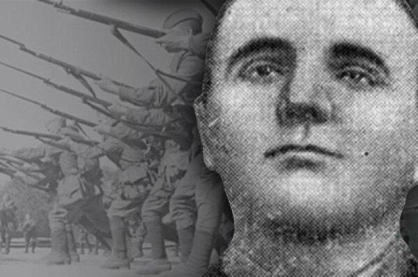 Красноармеец с топором уничтожил взвод вооруженных фашистов. история