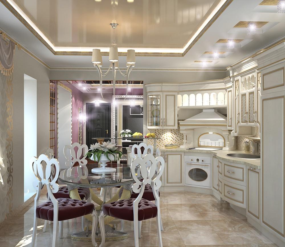дизайн кухни в стиле арт деко фото иллюстрированный