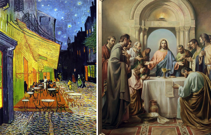 Что связывает «Кафе» Ван Гога и библейский сюжет «Тайной Вечери»