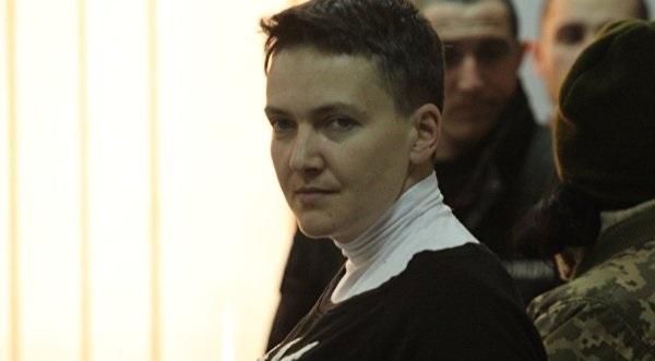 Надежда Савченко заявила всуде, что начинает голодовку