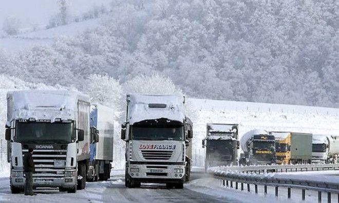 Особая технология которая используется дальнобойщиками в холодных регионах