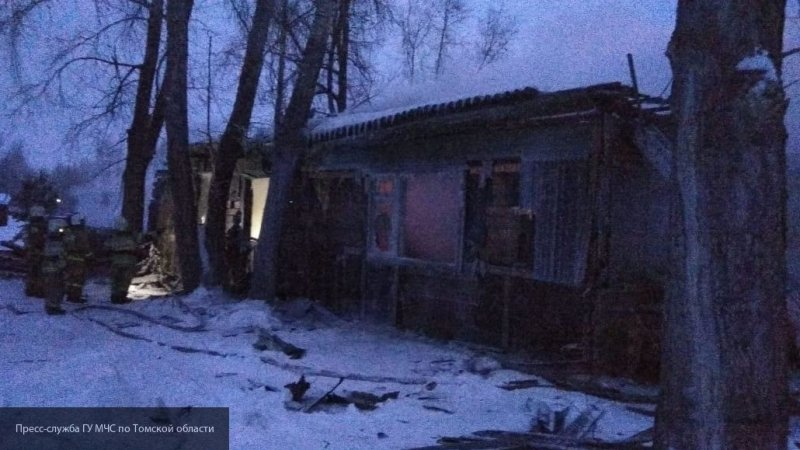 Следственный комитет РФ открыл дело после гибели 11 человек при пожаре в Томской области