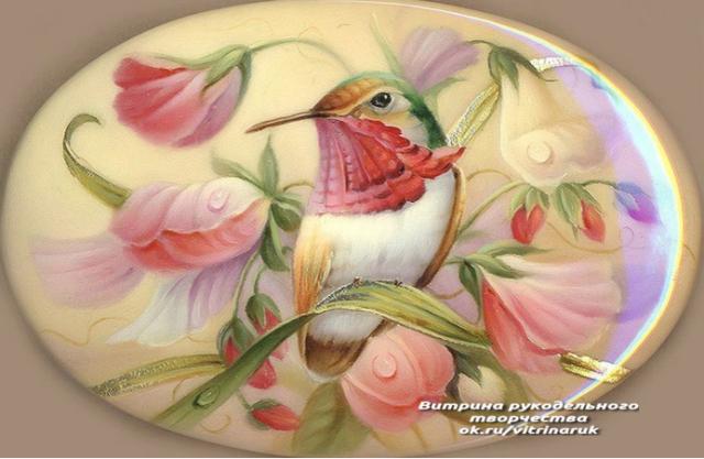 Красота лаковой миниатюры. Немного весенних красок Вам в ленту. handmake,поделки своими руками,художество
