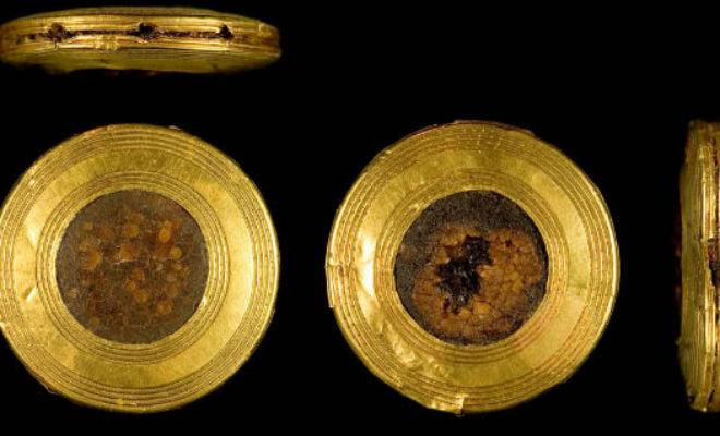 Кинжал из 140 000 золотых кусков: ученые проникли в тайну возрастом 4000 лет золото,кинжал,клинок,оружие,Пространство,стоунхедж,ювелир