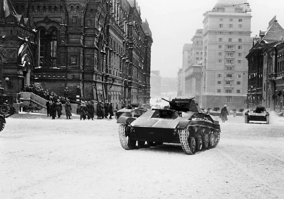 фото москвы военных лет