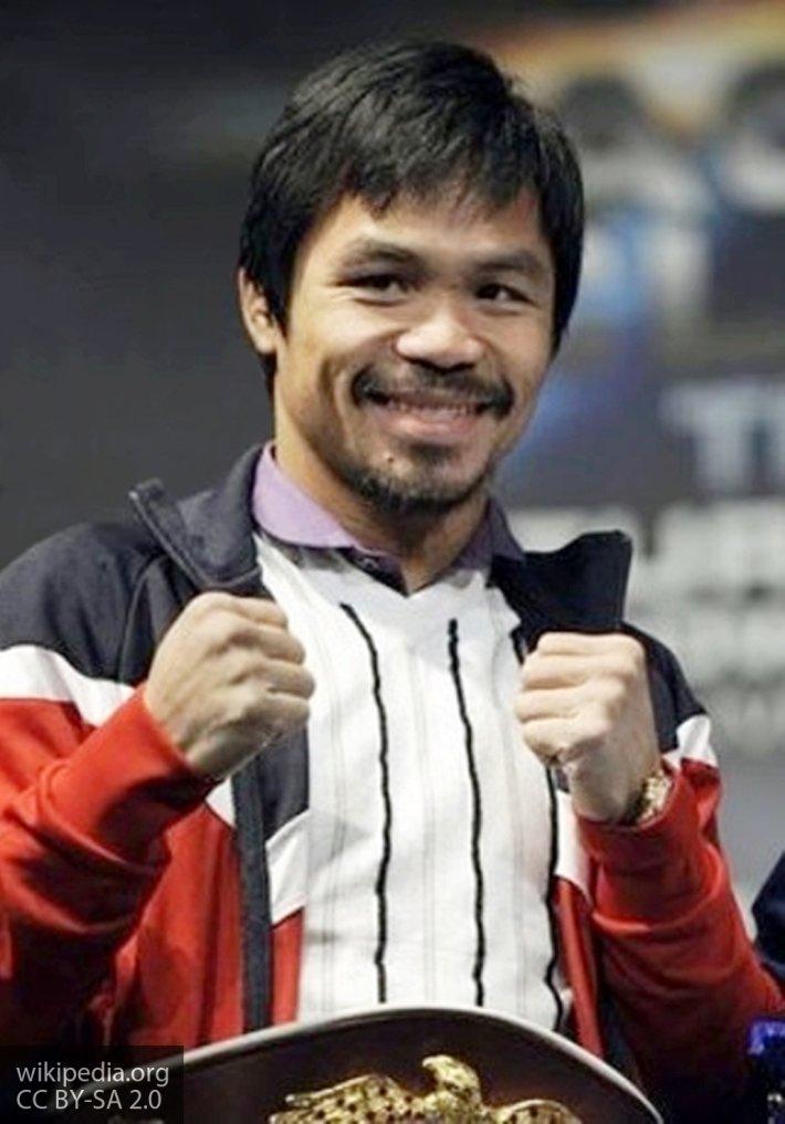Пакьяо одержал очередную победу в профессиональном боксе