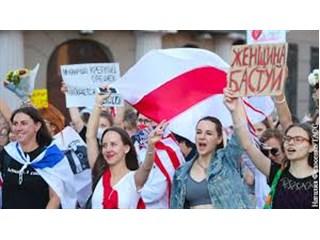 Белорусский протест стал частью мирового феминизма