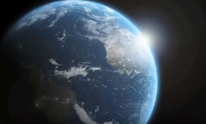 Всемирный потоп был реален: ученые рассчитали наклон Земли и показали данные всемирный потоп,Всемирный потоп был реален,космос,наука,Пространство,физика,эффект джанибекова