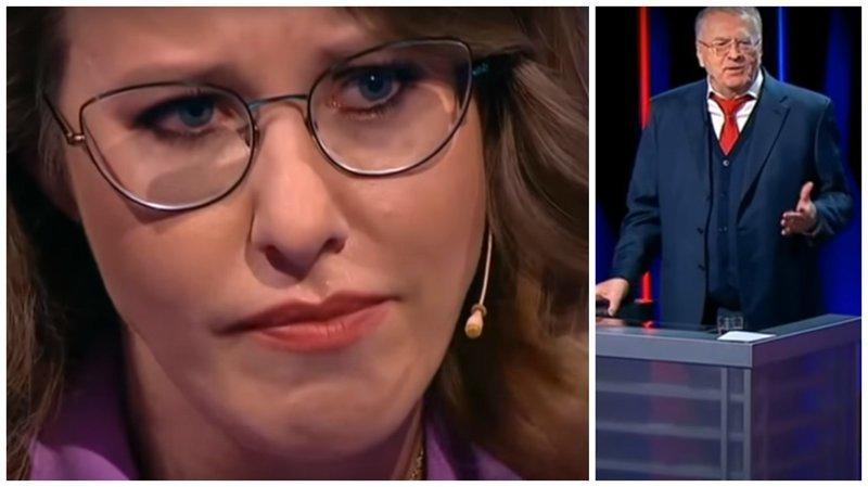 На теледебатах Ксению Собчак довели до истерики