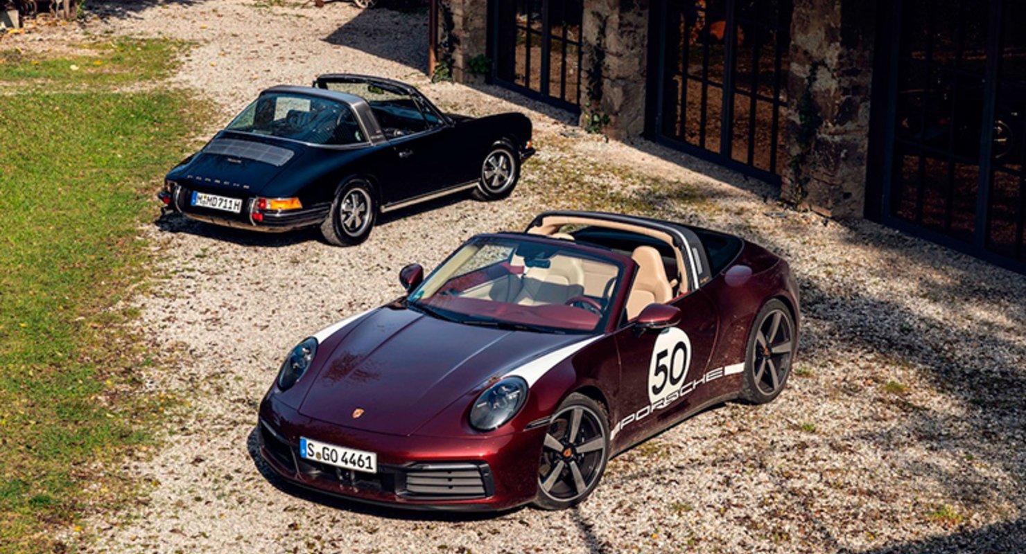 Porsche 911 станет последним авто марки с электромотором Автомобили
