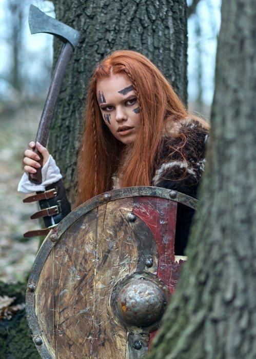 Кельты — свирепые воины, чьи женщины сражались наравне с мужчинами фото