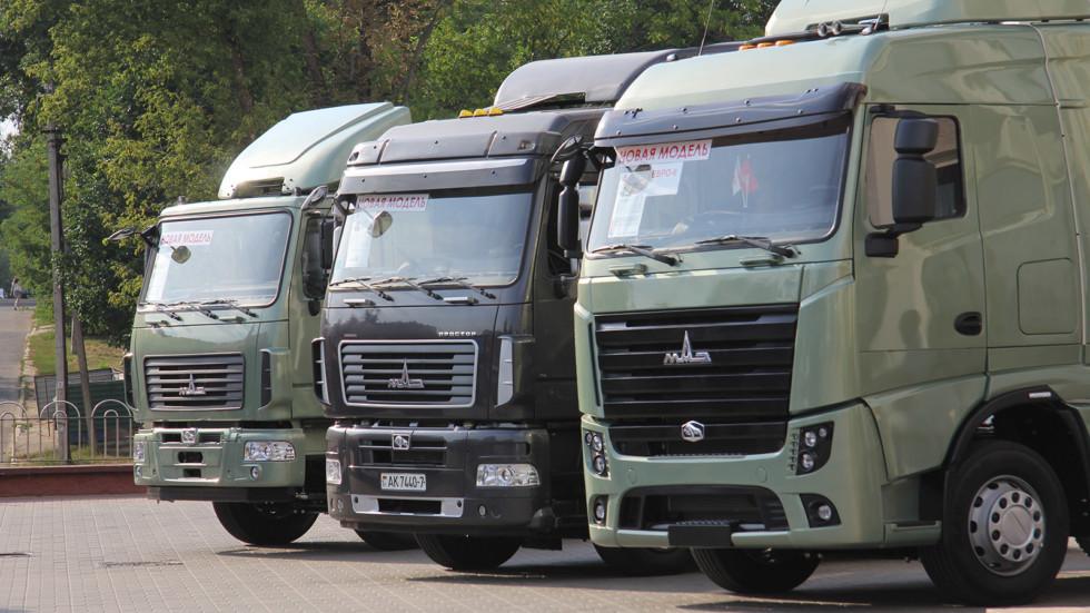 МАЗ разработал «умный» грузовик