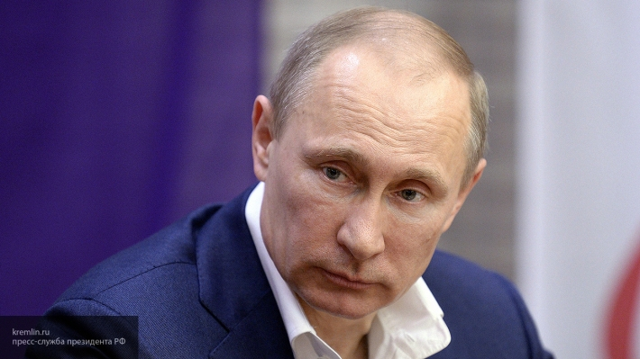 Президент Путин в День защит…