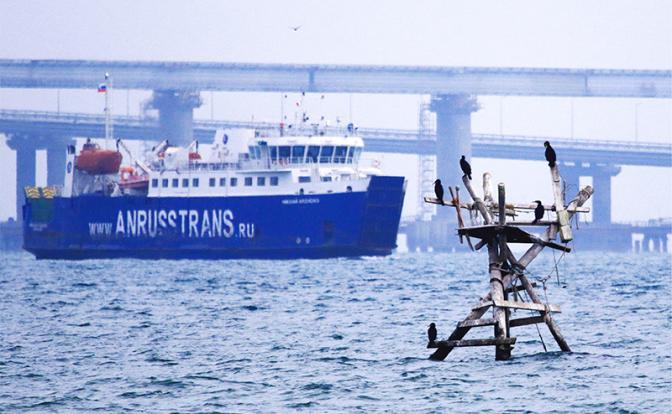 Керченская провокация: Сможет ли Европа отрезать Россию от своих портов