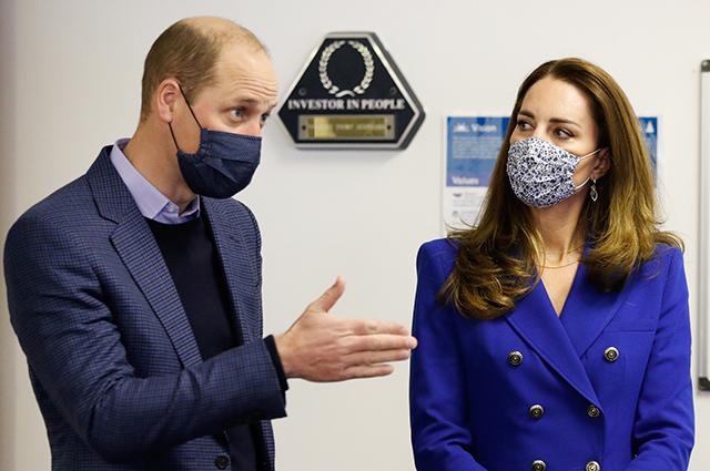 Кейт Миддлтон и принц Уильям посетили благотворительный фонд в рамках своего тура по Шотландии