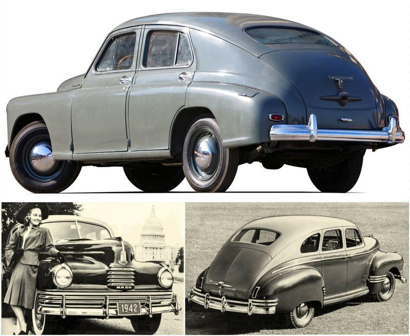 Победа ГАЗ-М20 — чья копия авто,автомобиль,Россия
