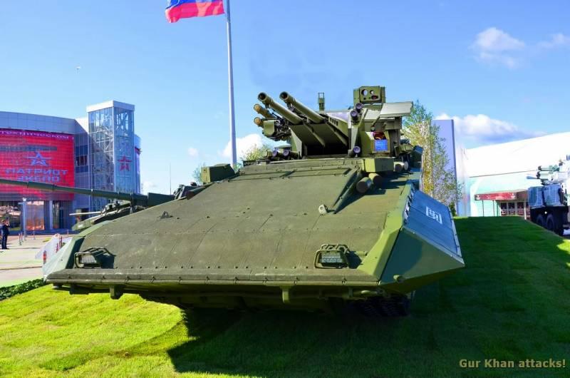 Какой может быть БМПТ«Терминатор-3»? оружие