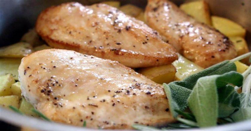 Блюда с куриной грудкой