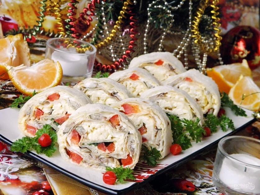 интересные блюда для праздничного стола с фото затерянный мир
