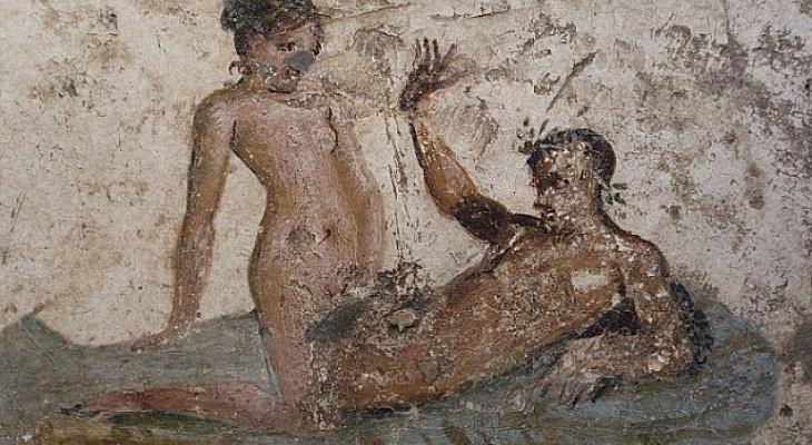 50 оттенков Помпеи: эротические фрески из борделя Древнего Рима