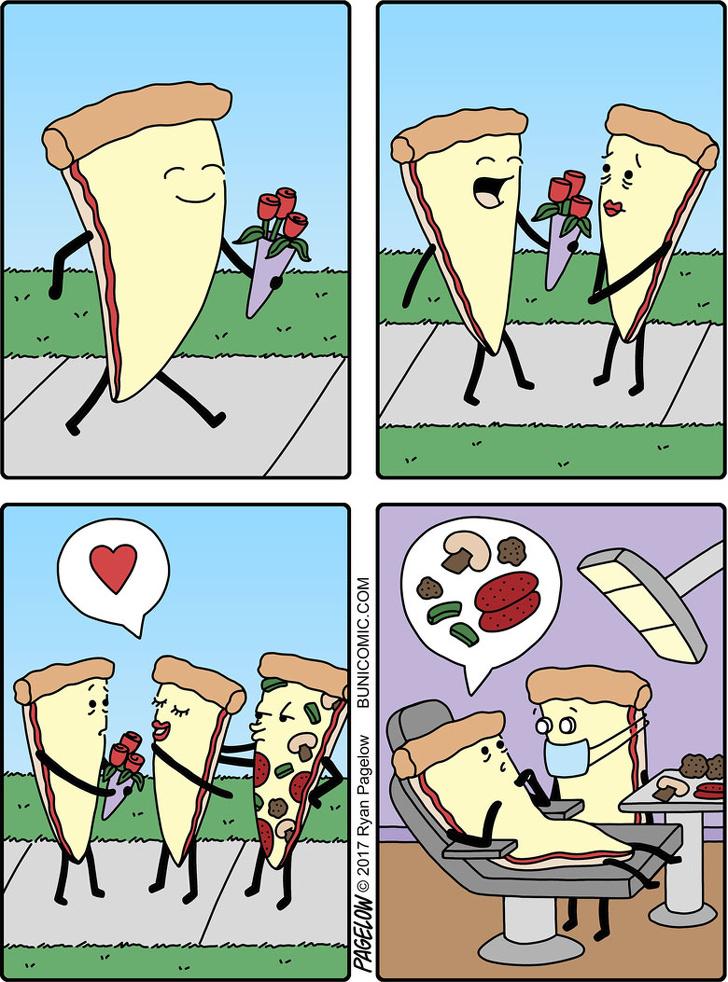 Комиксы про любовь в картинках