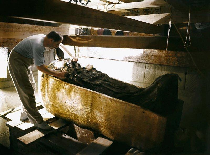 Находка столетия: история главного археологического открытия ХХ века Джордж Герберт, Тутанхамон, египет, интересное