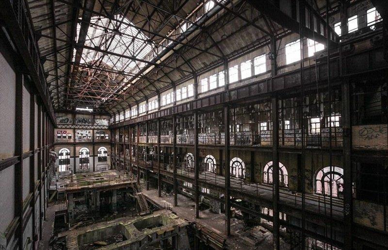 3. Нью-Йоркская электростанция часто используется для съемок фильмов о зомби бомбоубежище, заброшки, индастриал, интересно, фото