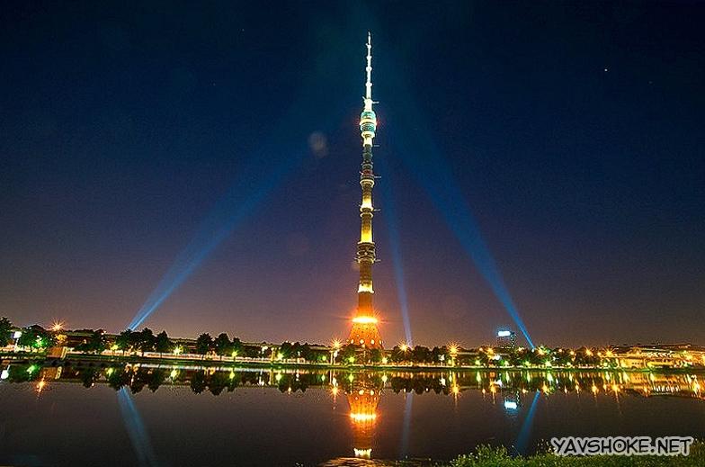 фото останкинской башни