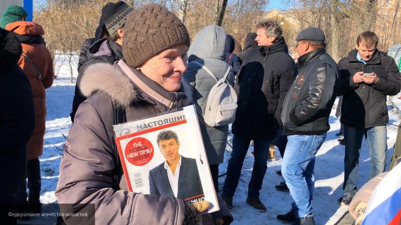 Журналист Лурье назвал марш Немцова провокацией и отработкой западных денег