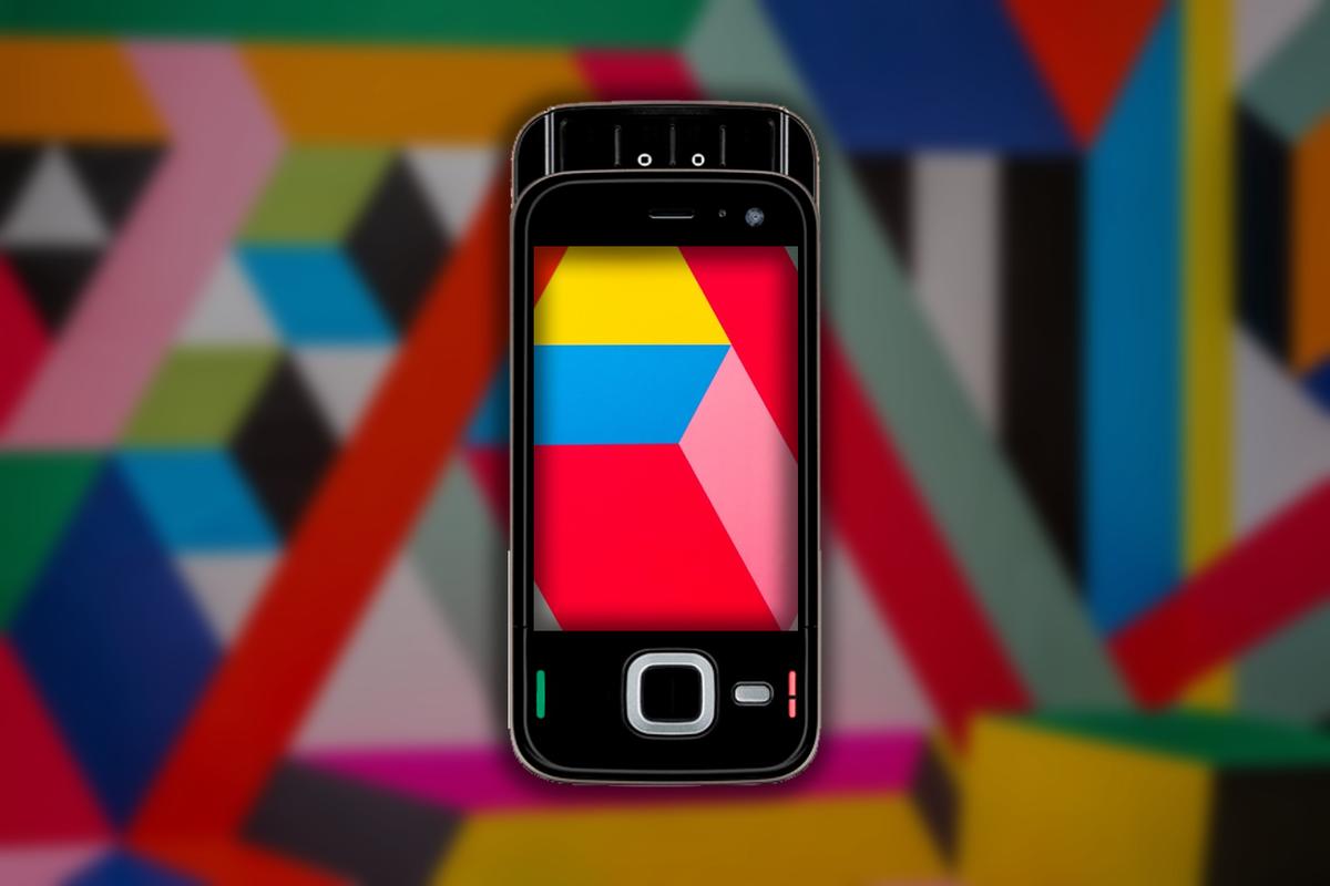 Первый смартфон с Amoled экраном. Каким он был ?