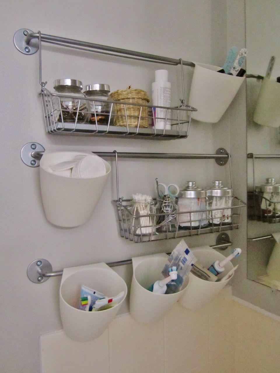 Идеи, которые можно использовать, когда места в ванной не хватает 6
