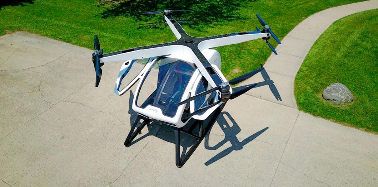 Пассажирский дрон SureFly будет летать на выставке CES